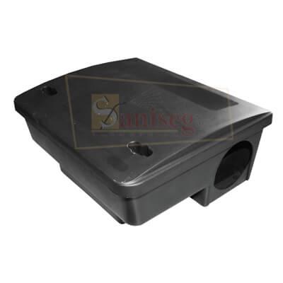caja cebadera con llave para roedores beta 2 saniseg
