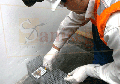 Proceso de desratizacion con Captura de roedores en trampas o jaulas metalicas saniseg