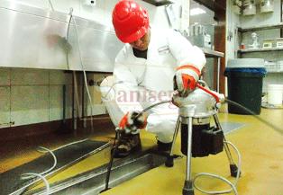 lavado desatoro de tuberias de desague de servicios higienicos y restaurantes
