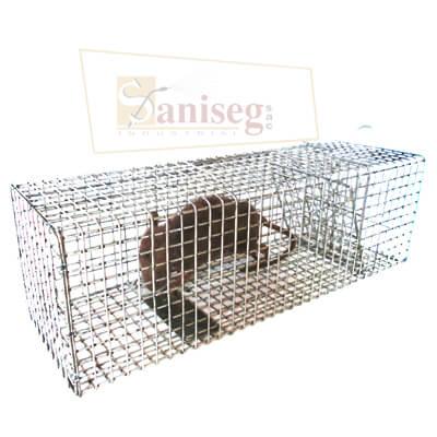 tomahawk, Estacion metalica para ratas