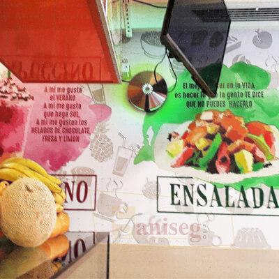 Trampa de luz uv Aura especial restaurantes saniseg