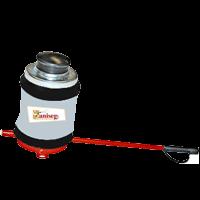 espolvoreadora manual para fumigador en tableros electricos contra cucarachas saniseg