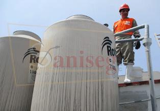 Limpieza y desinfeccion de cisternas y tanques elevados de almacenamiento de agua